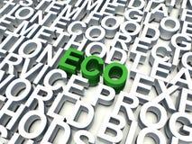 Eco бесплатная иллюстрация