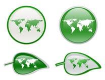 eco 3D Abbildung Lizenzfreie Stockfotos