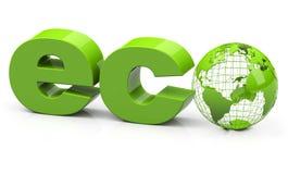 eco Lizenzfreie Stockfotos