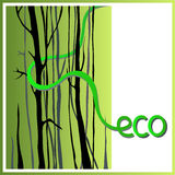 Eco 3 Photo libre de droits