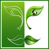 Eco 4 Stockfoto