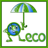 Eco 9 Photo libre de droits