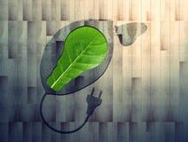 Eco aan boord stock foto