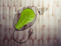 Eco aan boord van 1 stock foto's