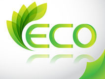 ECO Royalty Free Stock Photography