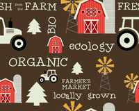 Free Eco And Organic Seamless Pattern. Farmer S Market Royalty Free Stock Photo - 54897705