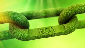 ECO symbol concept Stock Photography