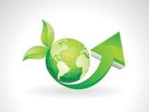 Eco astratto Immagini Stock Libere da Diritti
