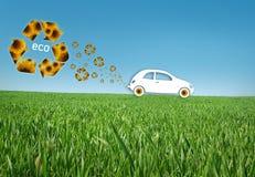 Eco Auto Lizenzfreies Stockfoto