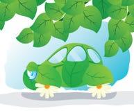 Eco-auto. Stock Afbeelding