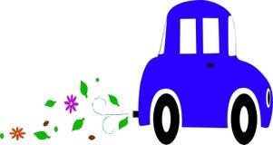 Eco-Auto Lizenzfreie Stockbilder