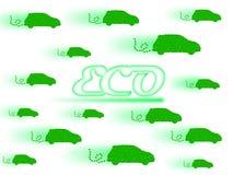 Eco-Auto Lizenzfreies Stockfoto