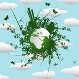 Eco background Royalty Free Stock Image