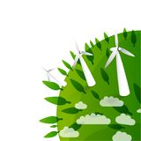 Eco background Royalty Free Stock Photo