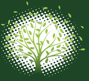 Eco background. Abstract eco background.Vector illustration Royalty Free Stock Photo