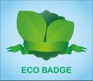 Eco Badge Stock Image