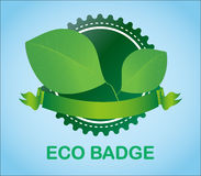 Eco Badge Royalty Free Stock Image