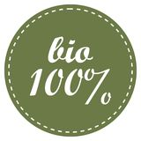 Eco 100 percent vector icon. Eco badge ecology label vector illustration. Eco badge ecology label vector illustration vector illustration