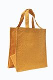 Eco bag. Nature material hand craft Royalty Free Stock Images