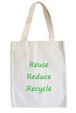 Eco bag Stock Photo