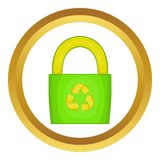 Eco bag vector icon Stock Images