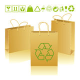 Eco bags Royalty Free Stock Images