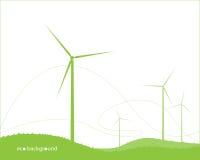 Eco bakgrund Arkivbild