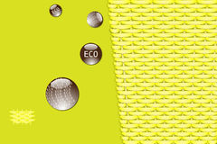 Eco bamboo background Stock Photos
