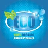 Eco baner Royaltyfria Foton