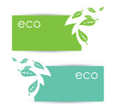 Eco banners Royalty Free Stock Photo
