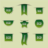 Eco banners Royalty Free Stock Image