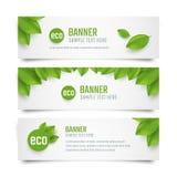 Eco banners Stock Photo
