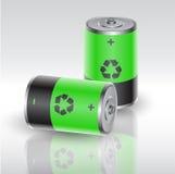 Eco bateria royalty ilustracja