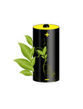 Eco battery Stock Photography