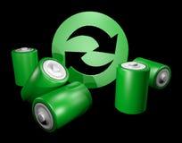 Eco battery Royalty Free Stock Image