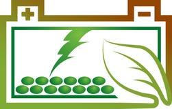 Eco battery logo