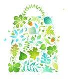 Eco Beutel Stockfoto