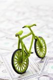 Eco bicycle icon concept. Abstract image of Eco bicycle icon concept Royalty Free Stock Image