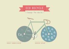Eco bike Royalty Free Stock Image