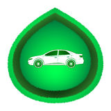 Eco bilbegrepp Arkivbilder
