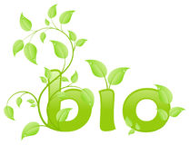 Eco bio Royalty Free Stock Image