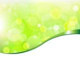 Eco Bokeh mit Band Lizenzfreies Stockbild