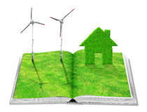 Eco book Stock Image
