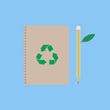 Eco book Royalty Free Stock Photos