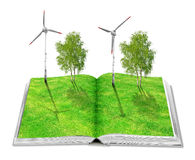 Eco book stock images