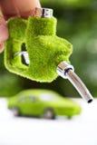 Eco bränsledysa Arkivfoto
