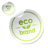 Eco brand stick Royalty Free Stock Photography