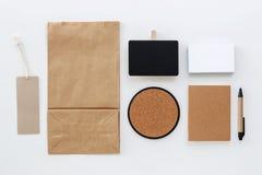 Eco brevpappermodell Royaltyfri Bild
