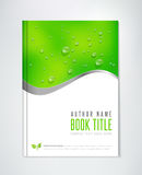 Eco Brochure - Book, Flyer or Report Template. Stock Photo