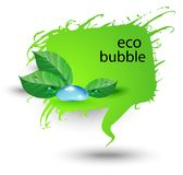 Eco bubble Royalty Free Stock Photos